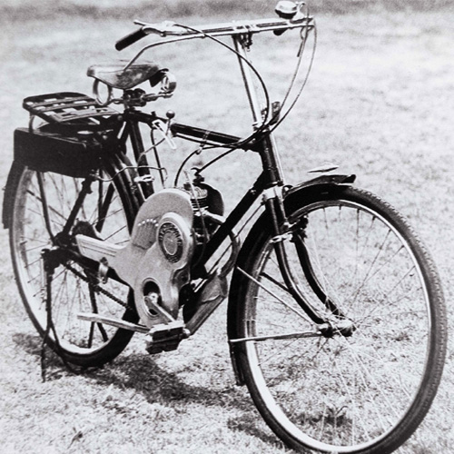 1952 Suzuki power free motorized bicycle