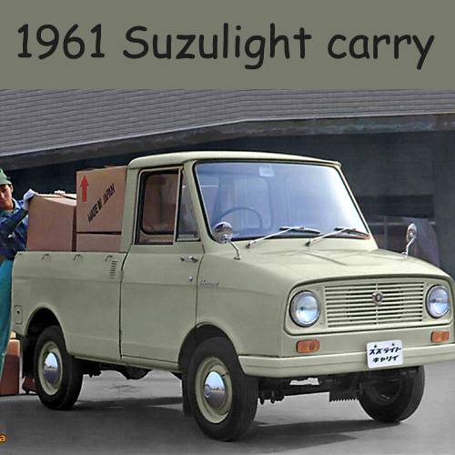 1961 Suzulight carry