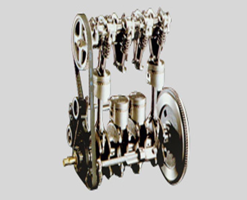 1976 Mitsubishi large-displacement four-cylinder engine