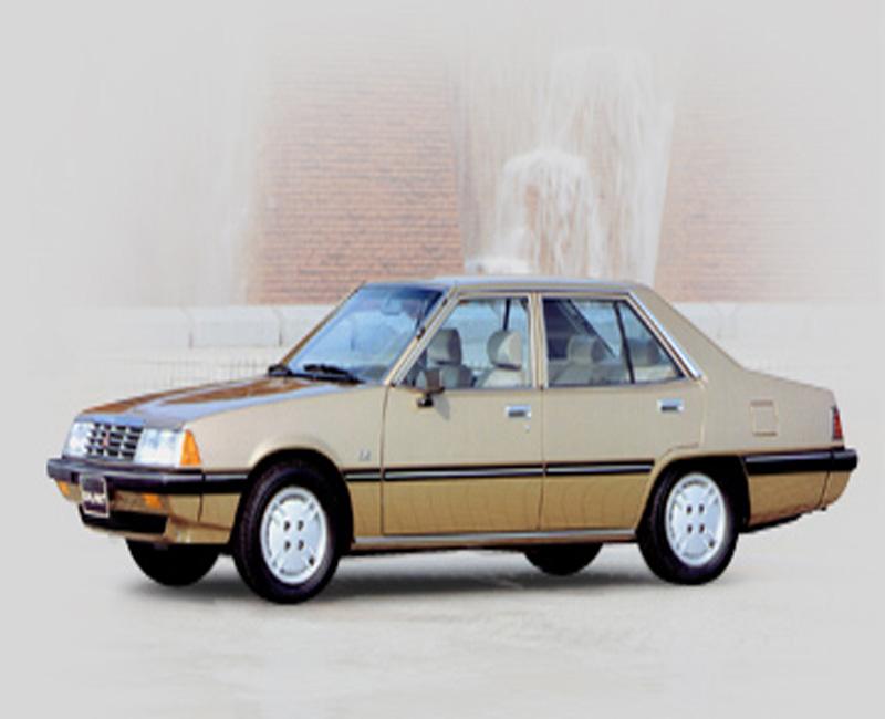 1980 Mitsubishi turbocharged diesel engine