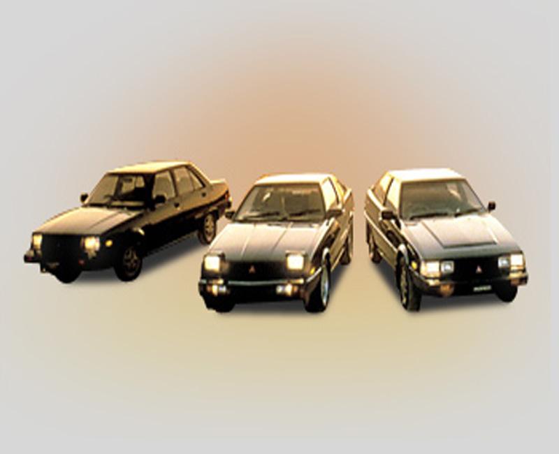 1982 Mitsubishi Tredia , Cordia and Starion