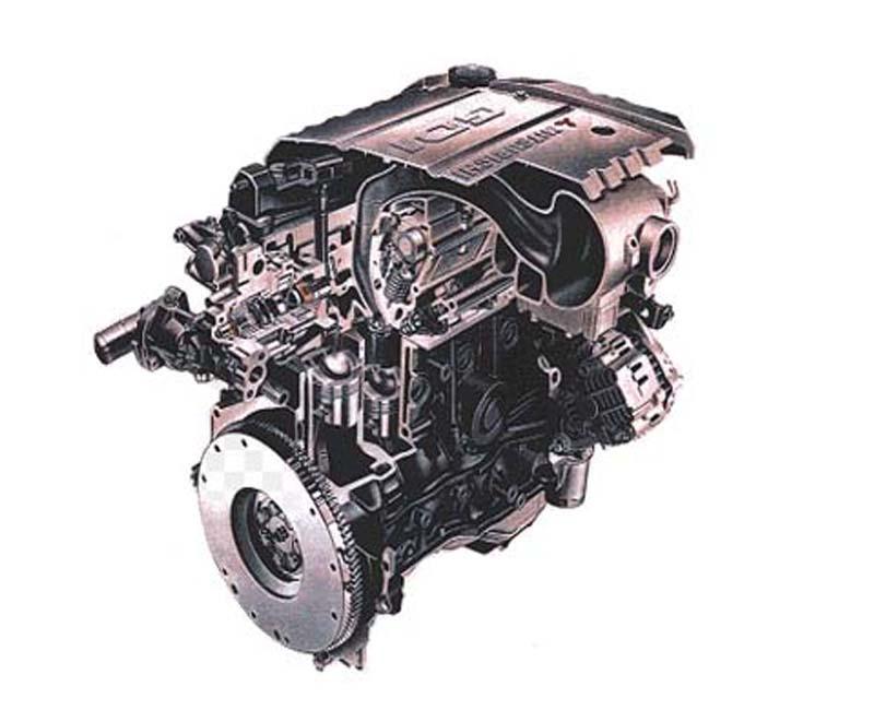 1995 Mitsubishi world's first Gasoline Direct Injection (GDI) engine