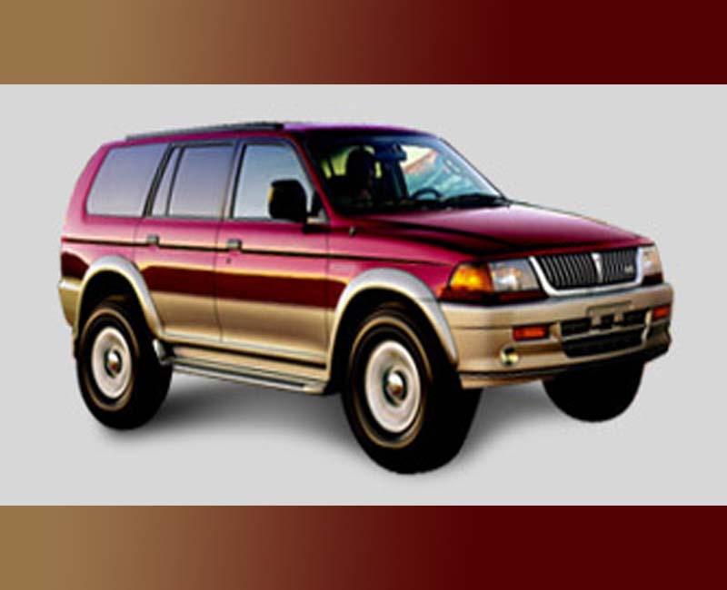 1996 Mitsubishi car logo history