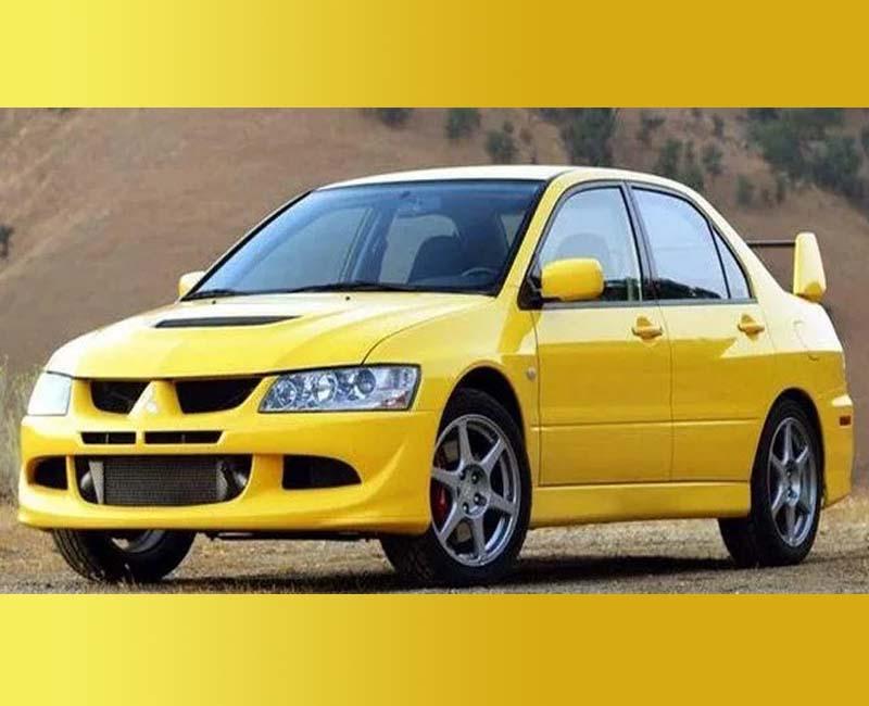 2003 Mitsubishi Car logos histroy