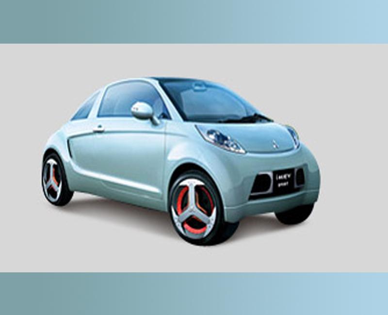 2008 Mitsubishi blue