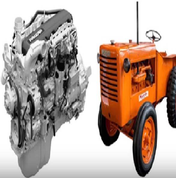 L33 Lamborghini tractor diesel engine
