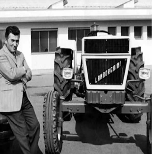 Lamborghini tractor 1947