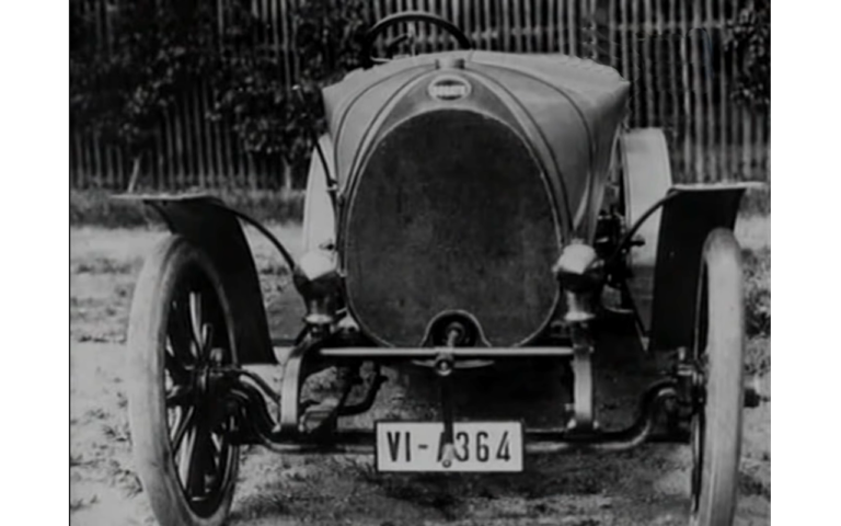 First bugatti car