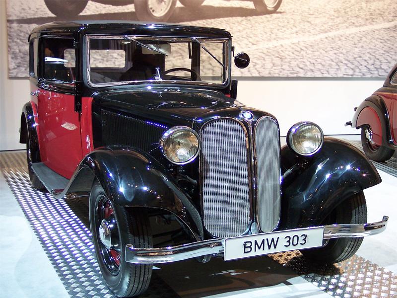 1933 BMW 'kidney grille'