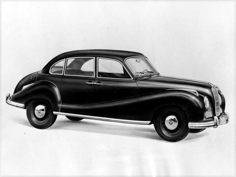 BMW 501 model