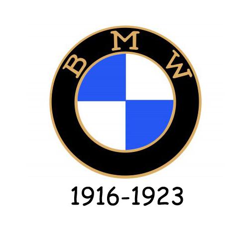 BMW logo 1916-1923