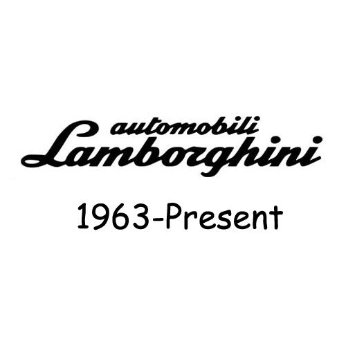 Lamborghini 1963-Present