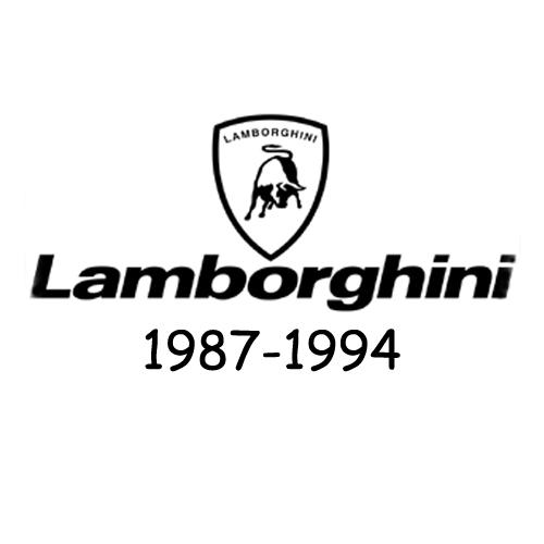 Lamborghini logo 1987-1994