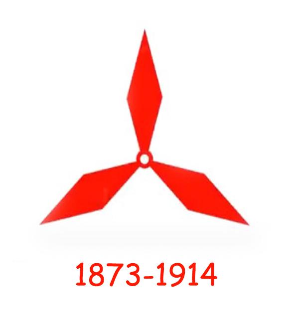 Mitsubishi logo 1873-1914
