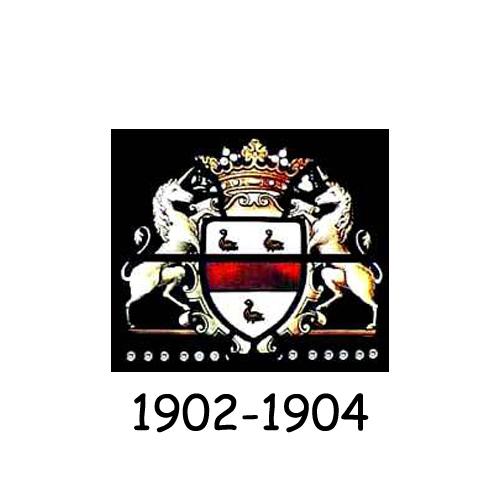 Cadillac logo 1902-1904