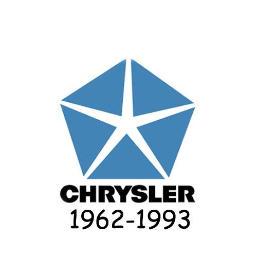 Chrysler logo 1962-1993