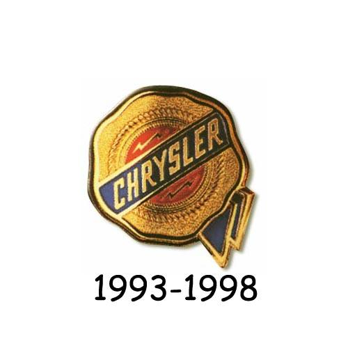 Chrysler logo 1993-1998