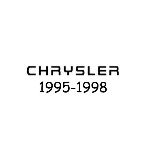 Chrysler logo 1995-1998